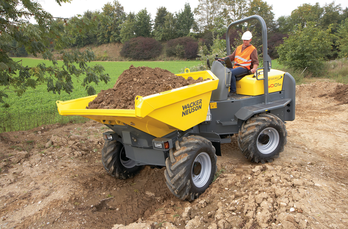 Wacker Neuson All-Wheel Dumpers